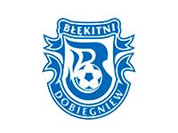 logo ks Błękitni Dobiegniew