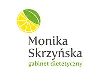 logo Monika Skrzyńska gabinet dietetyczny