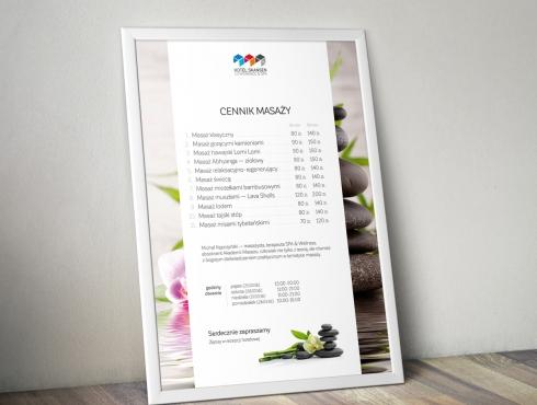 Hotel Skansen Conference & SPA - plakat/cennik