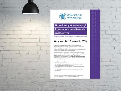 Uniwersytet Wrocławski - plakat