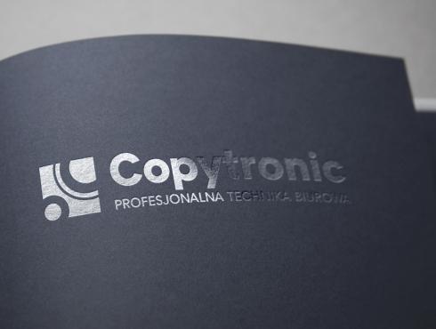 COPYTRONIC - wizualizacja logo