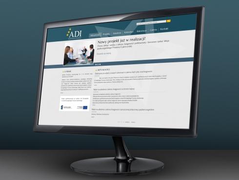 Strona internetowa ADI