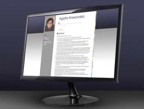 Strona internetowa — dr Agata Krasowska