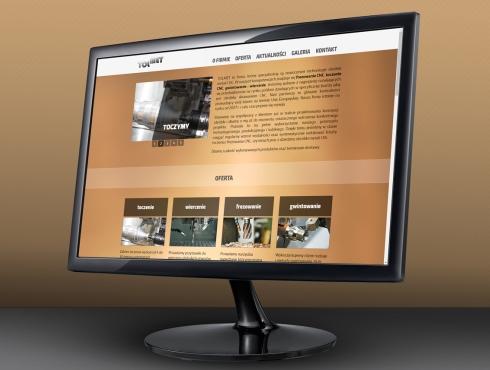 TOLMET - strona internetowa wizytówkowa