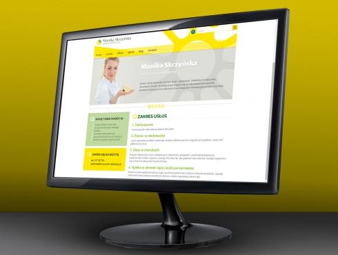 Strona internetowa gabimetu dietetycznego