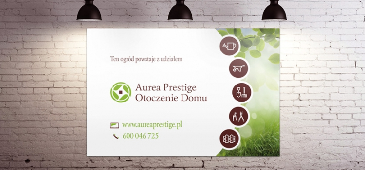 Aurea Prestige Otoczenie Domu - baner