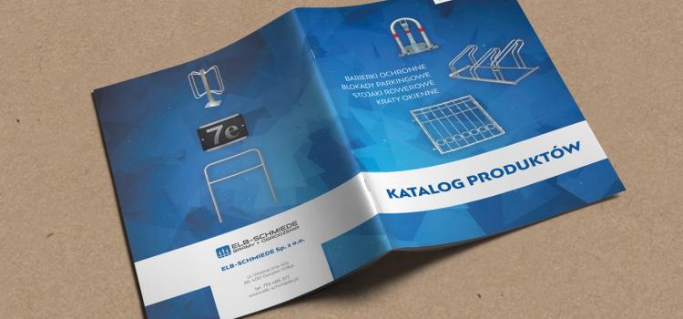 Wizualizacja projektu okładki katalogu