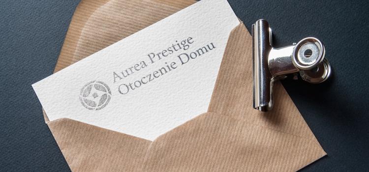 Aurea Prestige Otoczenie Domu - wizualizacja logo