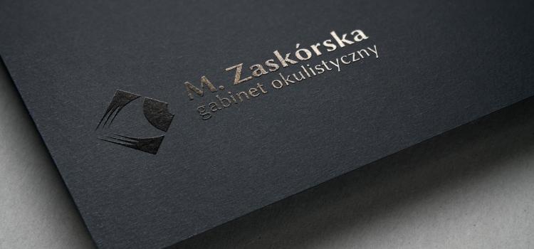 Gabinet Okulistyczny Marzena Zaskórska — wizualizacja logo