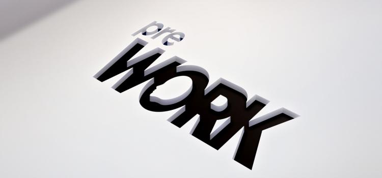 Wizualizacja logo projektu PREWORK