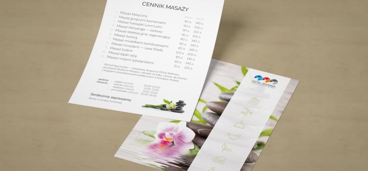 Hotel Skansen Conference & SPA - ulotka A5