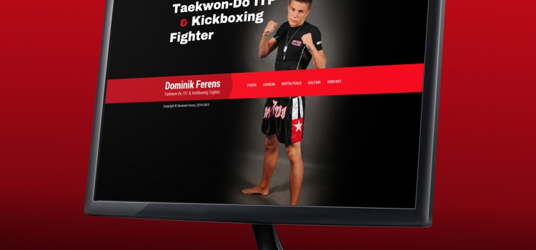 Dominik Ferens - strona internetowa
