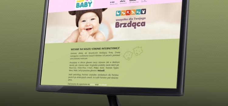 Super BABY - strona www