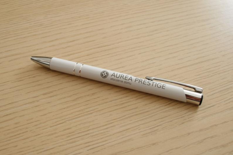 metalowy długopis z grawerem