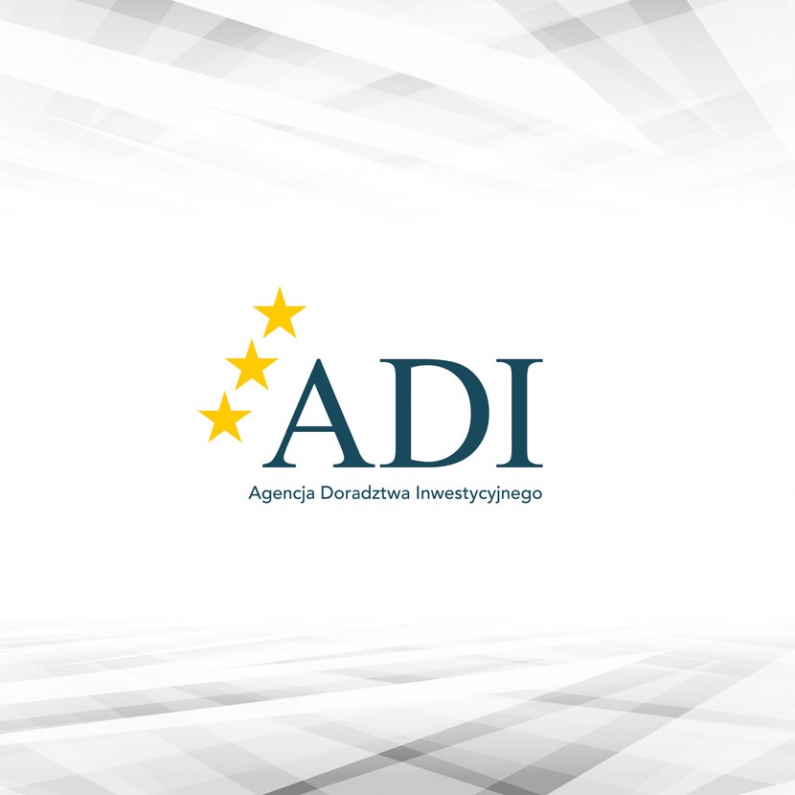 Projekt logo ADI - wersja podstawowa