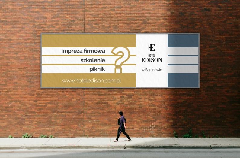 Wizualizacja projektu banera wielkoformatowego
