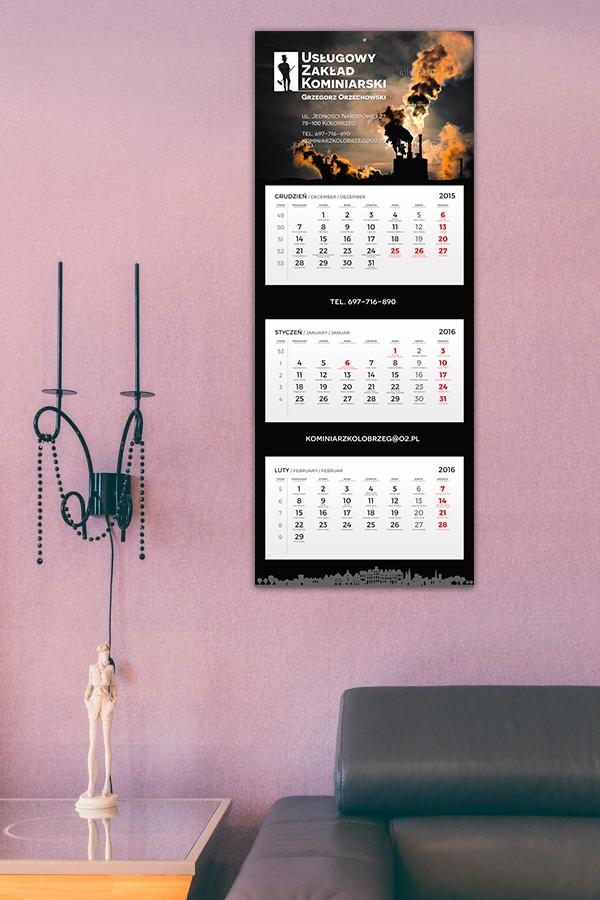 Wizualizacja projektu kalendarza