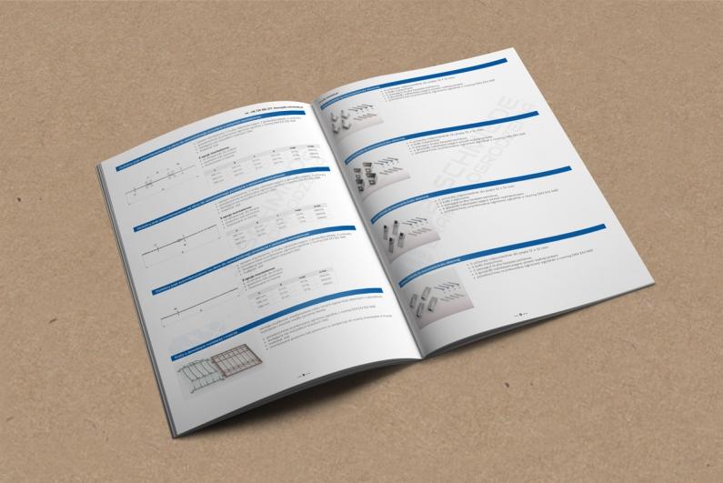 Wizualizacja projektu stron wewnętrznych katalogu