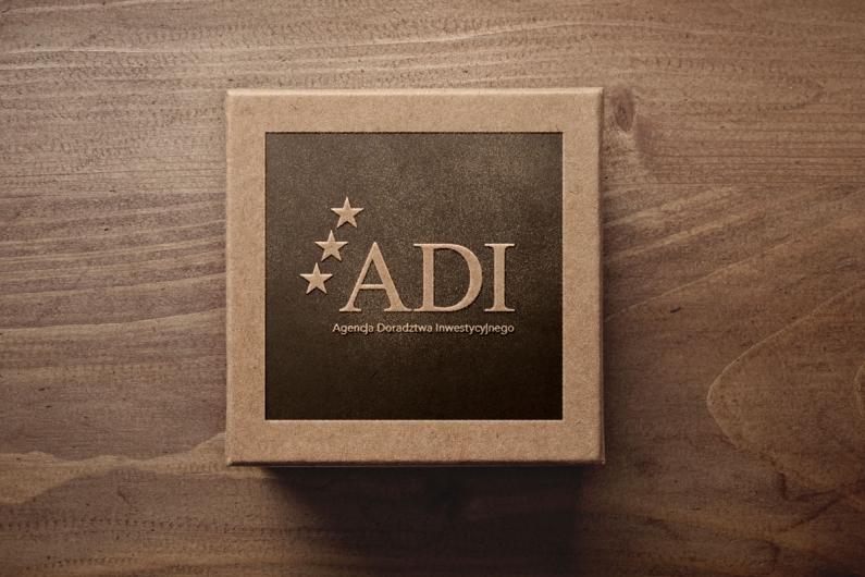 Agencja Doradztwa Inwestycyjnego - wizualizacja logo