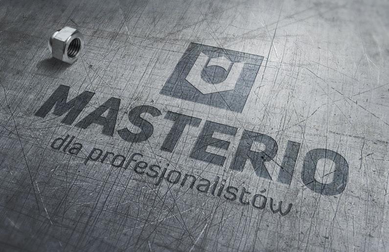 Logo MASTERIO - wizualizacja