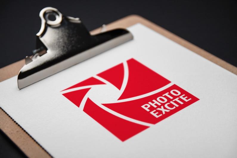 PhotoExcite - wizualizacja logo