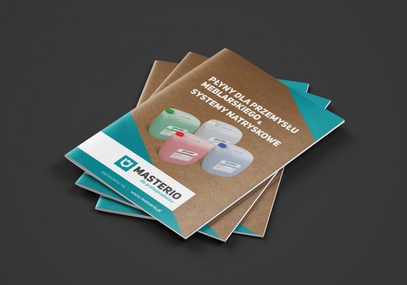 Katalog produktowy - wizualizacja okładki