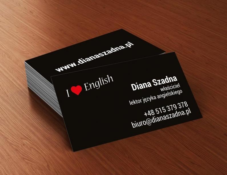 Szkoła Języka Angielskiego - wizytówka